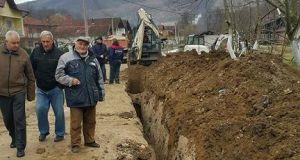 Izrada kanalizacije u Dubokom Potoku