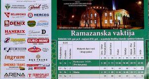 Ramazanska vaktija za Srebrenik 2018